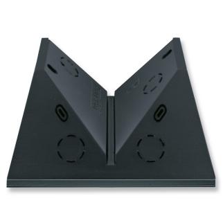 Busch Jaeger - Plafond/hoek adapter, antraciet, voor Busch-Wächter MasterLINE