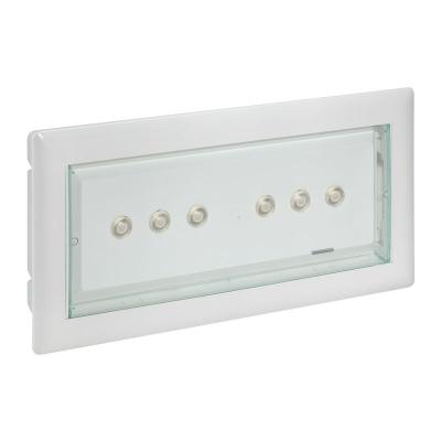 LEGRAND - U34 LED - 250 lm - 1h- NP/P IP42 transparent standard