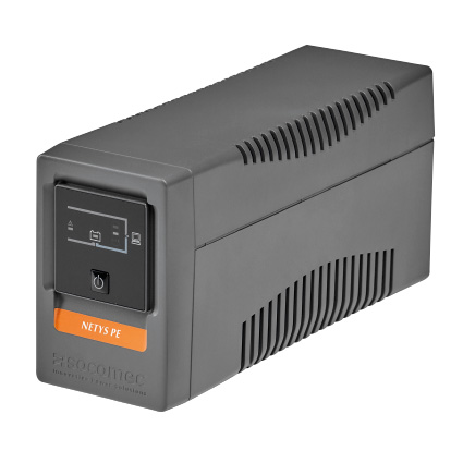 SOCOMEC - NeTYS PE 650VA/360W 230V 50/60Hz BATTERY INCLUDED WITH AVR