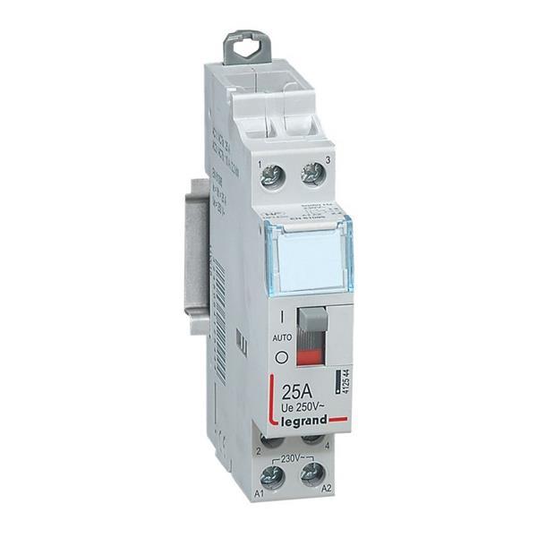 LEGRAND - Vermogenscontactor 25A - 2P - 230V - MAN - 2NO