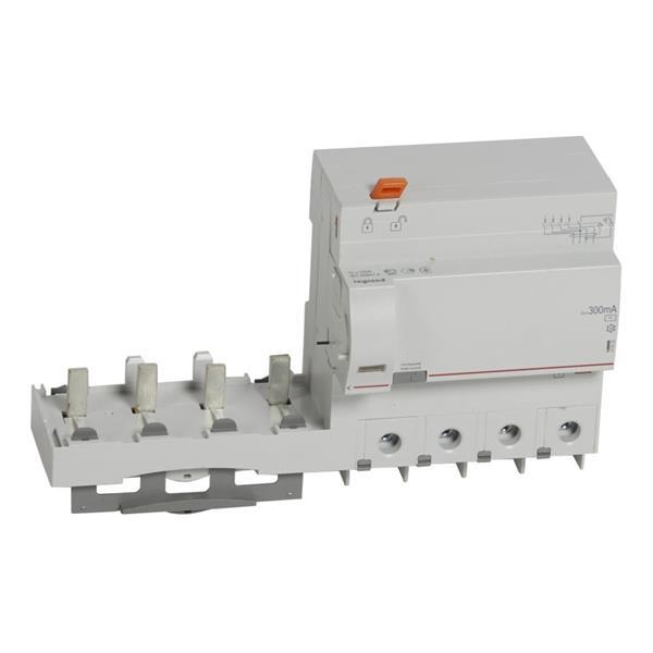 LEGRAND - Kdb DX³ 4P 125A AC 300mA 400V - 1.5mod/p - 6mod