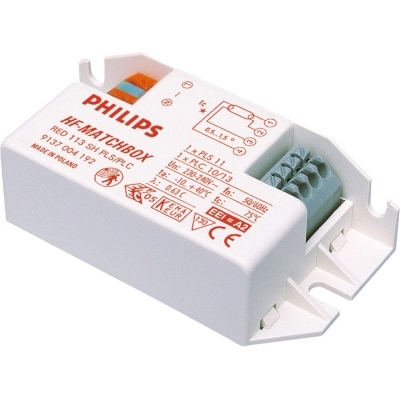 PHILIPS - HF-M 118 PL-C/PL-T SH Red 50-60Hz HF-matchbox