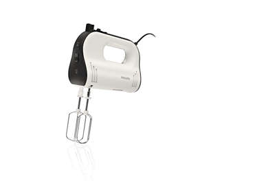 PHILIPS - Handmixer Avance Collection - 750W - oneindige snelheid & turbo - incl beker