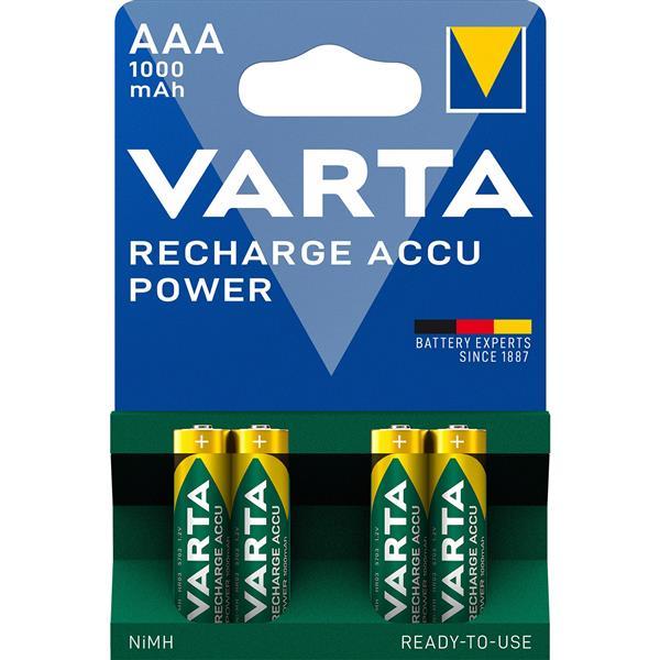VARTA - Batt opl NiMh HR03 AAA R2U