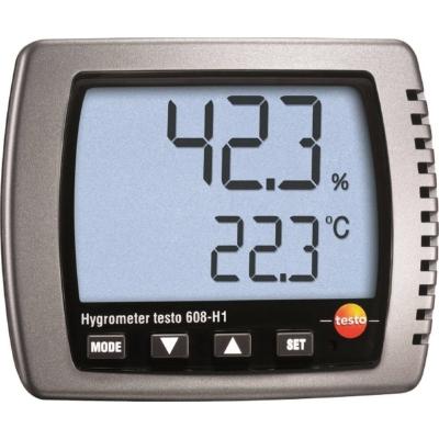 DIVERSE MATERIALEN - Vocht-/ dauwpunt- /temperatuurmeetapparatuur inclusief batterij - testo 608-H1