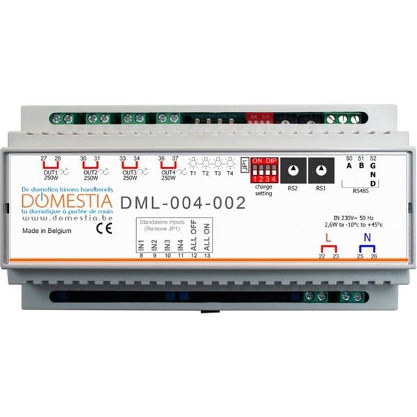 Domestia - Module d'extension 4 sorties télévariées LED (4x250W)