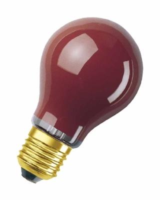 LEDVANCE - Decor Color A standaard rood 11W 55lm E27 240V Ø55mm