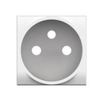 BTICINO - LL-Enjoliveur prise 2P+T blanc - enclipsable
