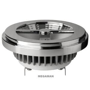 Lightplus - G53 15W LED AR111 DIM AC/DC 12V 8° 4000K 850lm ER2115d-75H08D