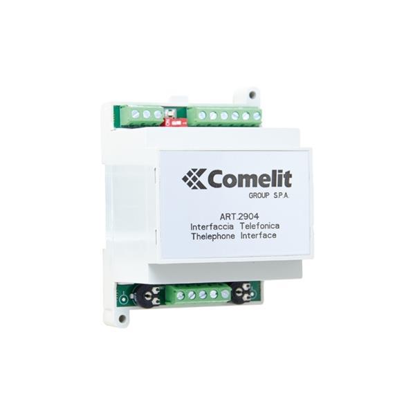 Comelit - Sys. Simplebus - Interface Teleph. - 1 Ville et 1 Derivee