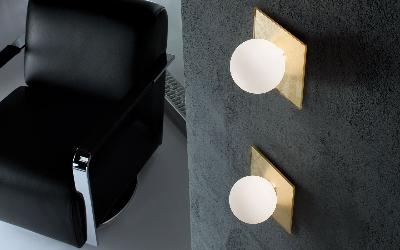 Star applique plafonnier 1x max 40w g9 halo 20x20 verre blanc satiné