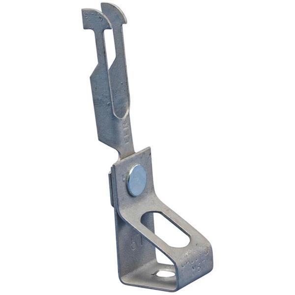 ERICO - Tige de suspension filetée EER-Ti/T pour fixation en V pour plafonds trapézoïdau