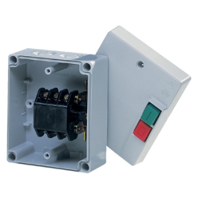 VYNCKIER - Coffret de manoeuvre avec boutons poussoirs 16A 3P