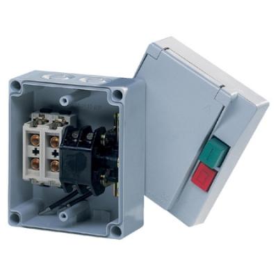 VYNCKIER - Coffret de manoeuvre + bases de coupe-circuit à broches 2P 16A