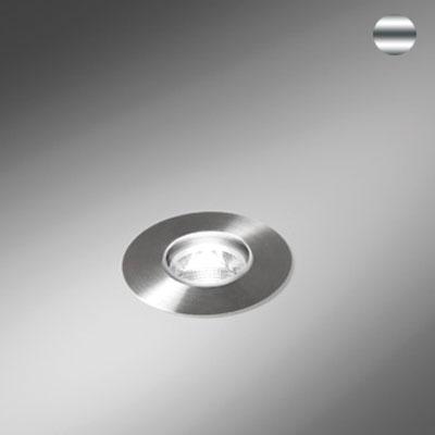 Bel-Lighting - Zona Led spot encastré de sol 3,2W Powerled blanc chaud 2700K 38° IP68 inox