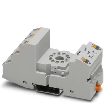 Phoenix Contact - Embase de relais RIF-4..., pour relais de puissance avec 2 ou 3 contacts inverse