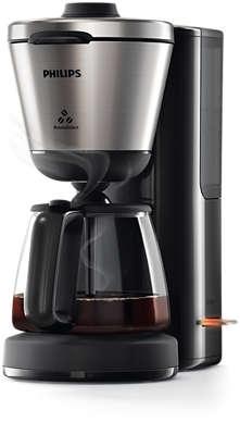 PHILIPS - Koffiezetapparaat Intense met intensiteitsknop - 1,2l - zwart/metaal
