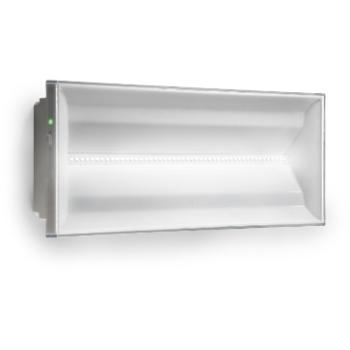 COOPER Menvier - NexiTech luminaire apparent LED 400lm autonomie 1,5 heure autotest blanc
