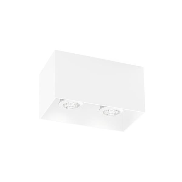 WEVER & DUCRE - BOX 2.0 PAR16 textuur wit GU10 plafond binnen