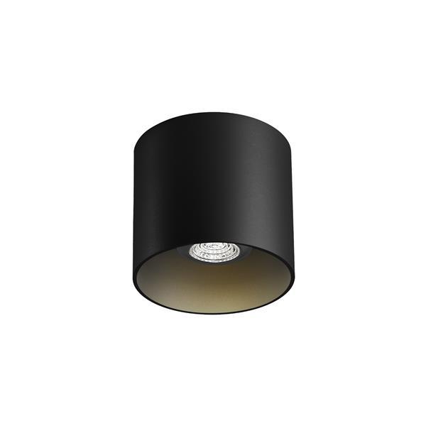 WEVER & DUCRE - RAY 1.0 PAR16 textuur zwart GU10 plafond binnen