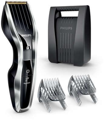 PHILIPS - Haartrimmer 5000 - 24 lengtestanden - 90 min gebruikstijd - verstelbare baardkam