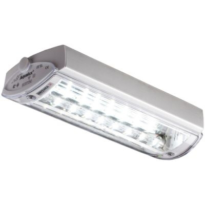 Van Lien - Aqualux plafonnier/appl. app. LED déc. batt. ind. 1x3W 6500K 153lm IP65 blanc