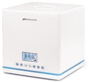 Asogem Groep - Humidificateur cool mist & warm mist - 4,8l/24h - 30m² - blanc