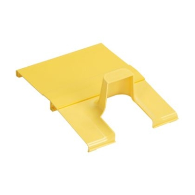PANDUIT - Spill-Over Junction with 2x2 Exit Cover, 12x4 Channel Yellow