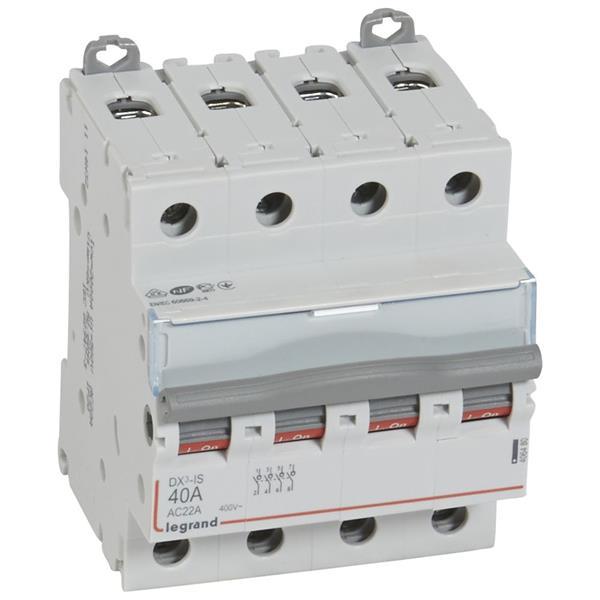 LEGRAND - Inter sectionneur DX³ 4P 40A 4 modules