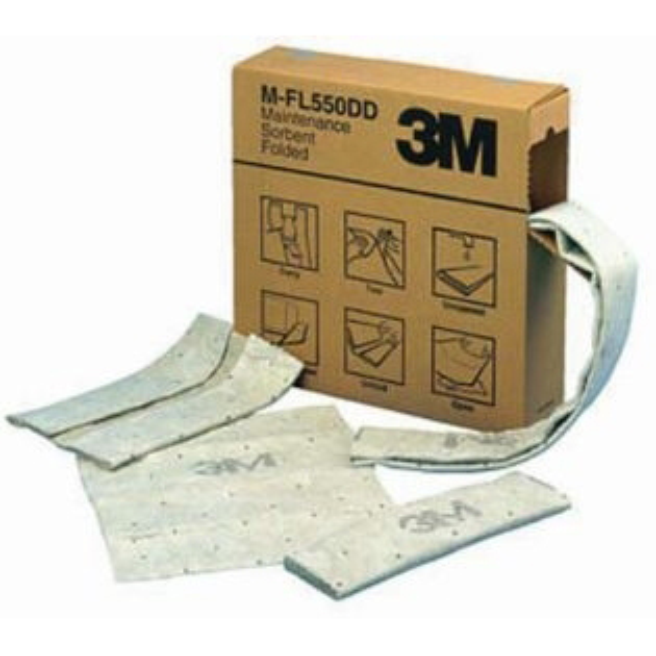 3M - Absorbants, 3M, M-F2001, Rouleau 4 en 1,perf, 12 cm x 15,2 m