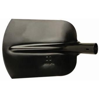 POLET - Schop, Zand, zwart epoxy, aangesl Snede,DIN20120, Blad nr 00 - 265x220 mm