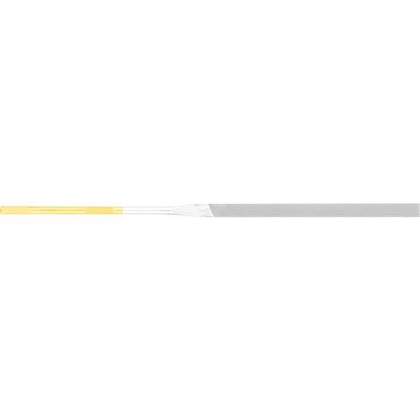 PFERD-RUGGEBERG-BENELUX - Vijl, Naald, Corinox, platstomp, Stift 4mm, bastaard, L 180 mm