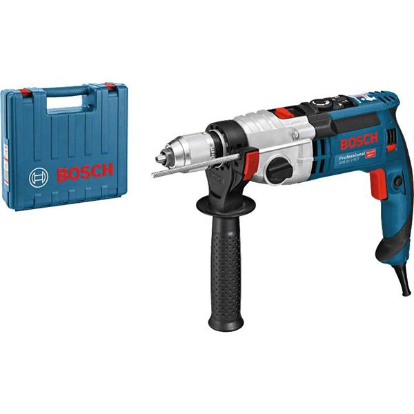 BOSCH - Perceuse à Percussion, Bosch, Type GSB 21-2 RCT, Mandrin 13 mm, 1300W, Coffre