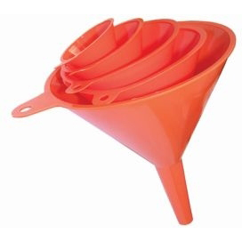 LUBRICANTS - Funnel set, Polyethylene, diam 50, 75, 100, 120 mm