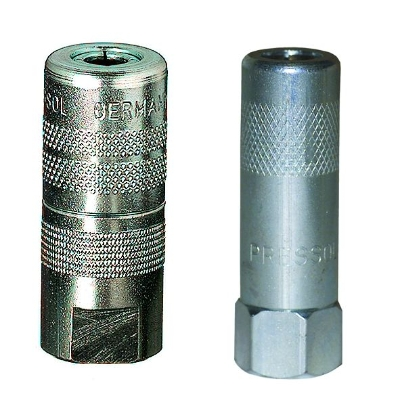 LUBRICANTS - Hydraulic coupler, M 10 x 1 female, with