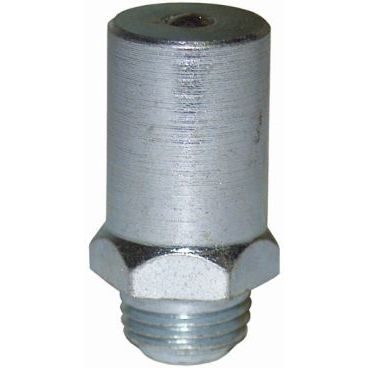 LUBRICANTS - Filling nipple, for grease gun head, M 10 x 1 male, diam 13 mm