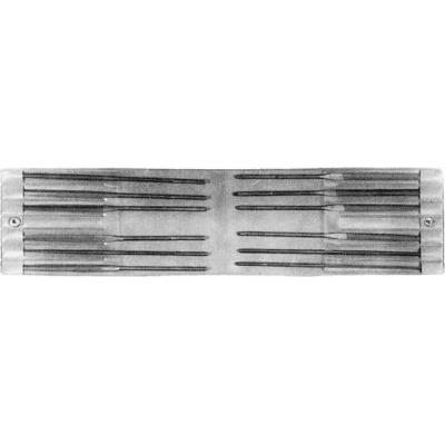 PFERD-RUGGEBERG-BENELUX - Naaldvijlenset, 6-delig, L 160 mm, Doorsnede 3,5 mm, Kap 2
