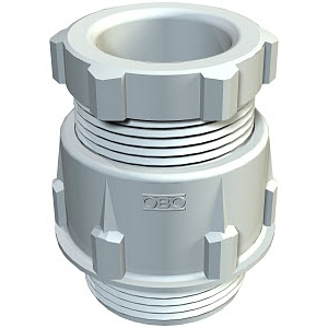 OBO BETTERMANN - Presse-étoupe conique gris 106/PG7 gris clair - polystyrène