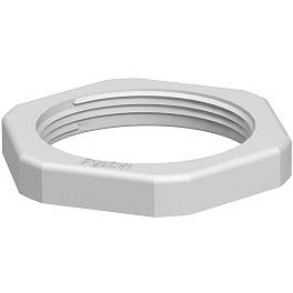 OBO BETTERMANN - Contre-écrou 116/PG13,5 polystyrène gris clair