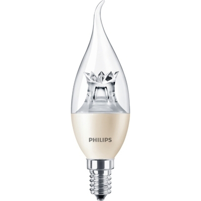 PHILIPS - Master LED candle dimtone 4-25W E14 BA38 230V 2200-2700K 250lm CRI80 CL 25000h