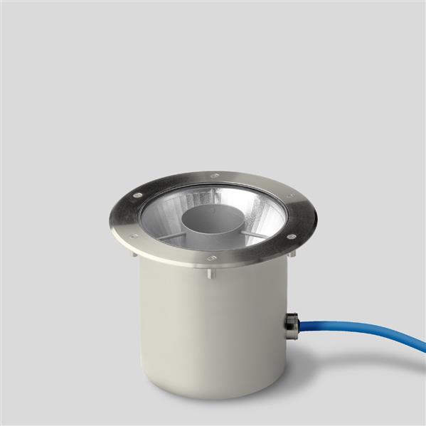 BEGA - Grondinbouw LED 21,6W 3000K 1538lm symmetrisch 2 ton DALI IP68 inox