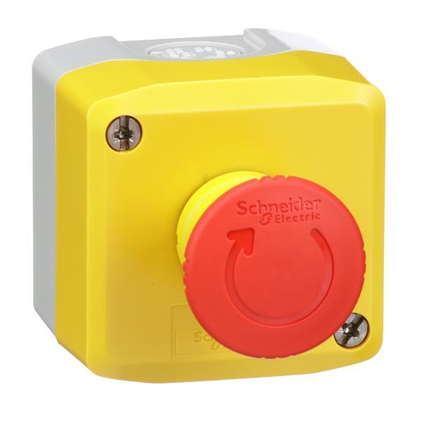 TELEMECANIQUE - EMERGENCY STOP CONT. BOX NO 2NC SPEC H7