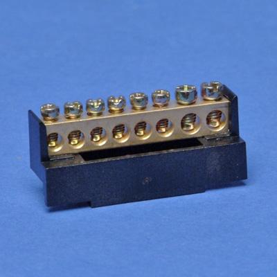 VYNCKIER - Barrette de phase noire 6x10mm²+2x16mm²
