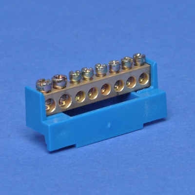 VYNCKIER - Barrette de neutre bleue 6x10mm²+2x16mm²