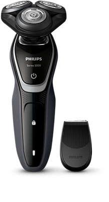 PHILIPS - Rasoir serie 5000 - à sec - lames MultiPrecision - 40 min d'autonomie