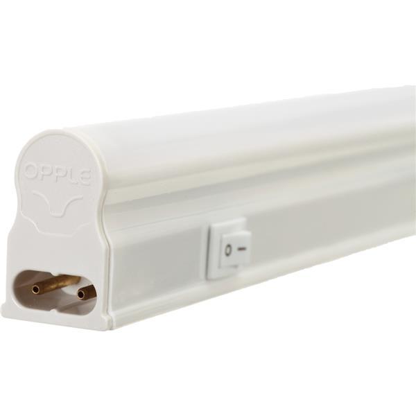 OPPLE - Réglette Led T5 applique interrupteur - 600mm - 9W - 800lm - 3000K - blister