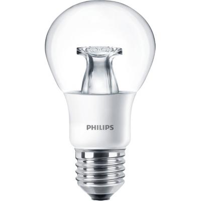 PHILIPS - Master LED bulb dimtone 6-40W E27 A60 230V 2200-2700K 470lm CRI80 Clear 25000u