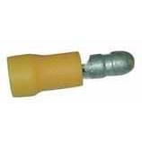 SICAME - Steker mannelijk geïsoleerd PVC rood 0,5-1,5mm² diameter stekker 4mm