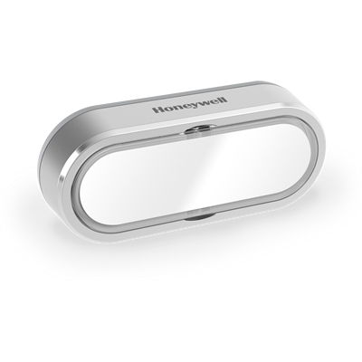 FRIEDLAND - Bouton RF horizontal gris + porte-étiquette