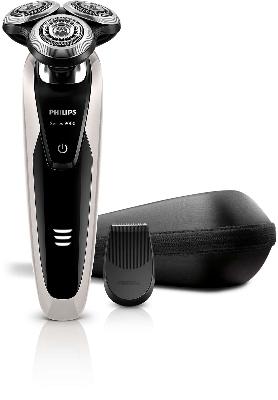 PHILIPS - Rasoir - wet/dry - V-trackPrecision - tondeuse de précision - 50 min d'autonomie
